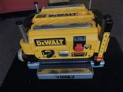 "Dewalt DW735 Heavy Duty 13"" Three Knife, Two Speed Thickness Planer"